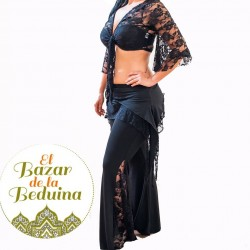 Lace belly dance top