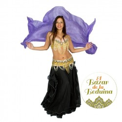 Silk veil belly dance PLAIN