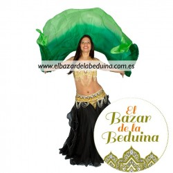 Ombre Silk Belly Dance Veil