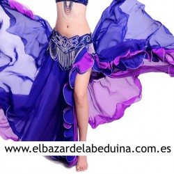Belly dance chiffon skirt