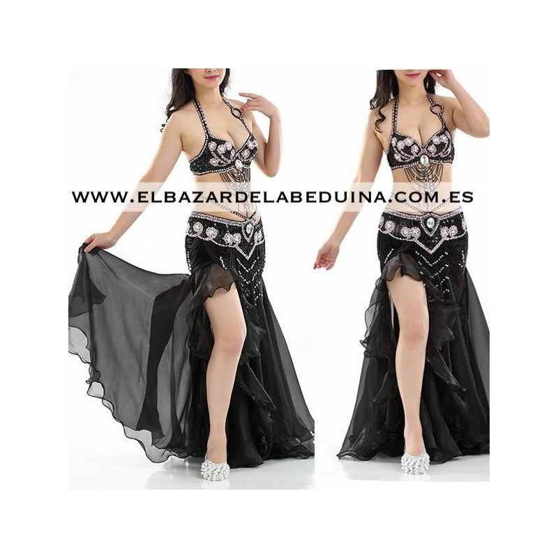 a26334aed0 Chiffon bellydance Skirt one size from S to XL Length  92-96 cm