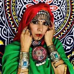 Choker Boho Tribal Afghan