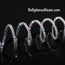 Strass Bracelet 6 row