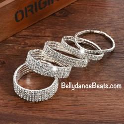 Strass Bracelet 1 - 10 row