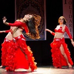 Rumba skirt Belly dance
