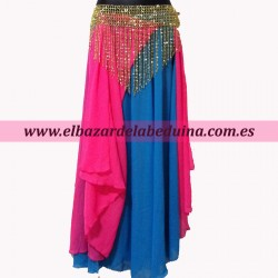 2 layers belly dance skirt...