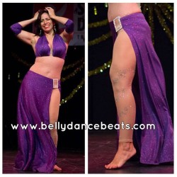 Belly dance pant Shine on