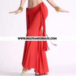 Pantalon danza tribal flecos