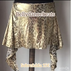 Bellydance Hip Scarf Shine on