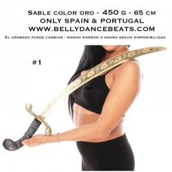 ONLY SPAIN - Belly dance sword