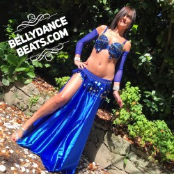 Bellydance costume with...