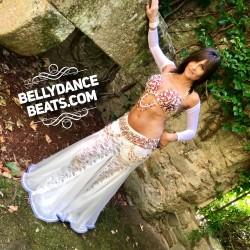 Traje de Danza Oriental Perlas