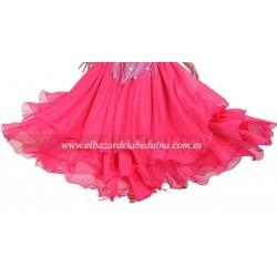 Falda drap danza oriental