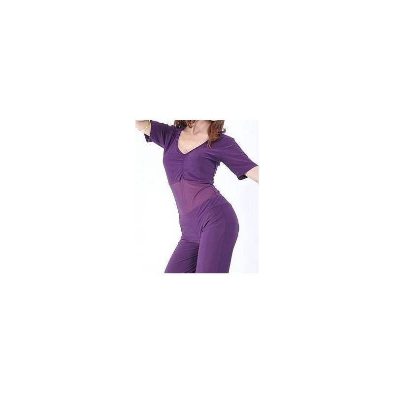 Body con barriga transparente